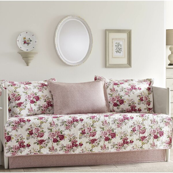 Lidia 100% Cotton 5 Piece Daybed Set by Laura Ashley Home by Laura Ashley Home